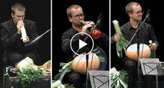 Orquestra Transforma Vegetais Em Instrumentos Musicais