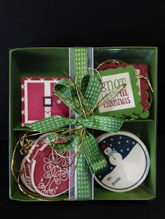 Oh My Inky Fingers: Christmas Projects