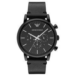 Unserer Meinung nach ist eine Uhr immer ein schönes Geschenk: Mit der ganz in Schwarz gehaltenen Herrenuhr Luigi, Dress setzt EMPORIO ARMANI neue Akzente in der Uhrenmode und ihr zaubert eurem Auserwählten ganz bestimmt ein Lächeln ins Gesicht. <3