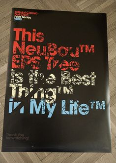 Printed posters, 2009 by Official Classic, via Behance