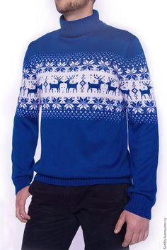 Купить Свитера для пары - комбинированный, орнамент, свитера с оленями, норвежские узоры, скандинавские узоры
