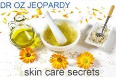 Dr Oz skin care secrets & solutions - Dr Oz Jeopardy