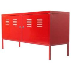 This glossy red locker ($99) is a catch-all kid storage that will last until the teenage years. - Provided by PopSugar