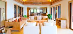 Luxury accommodation at Sri panwa hotel Phuket