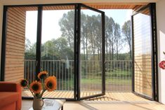 The award winning SUNFLEX aluminium bifold doors & SUNFLEX ultra-thermally efficient bifold doors are packed full of industry leading unique features. Folding Doors, House Extensions, Interior Decorating, Stairs, Windows, Architecture, Extension Ideas, Glass Doors, Home Decor
