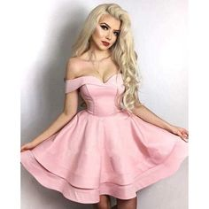 Sweet A Line Pink Short Homecoming Dress Girls Semi Formal Gown 8th Grade Jr Prom Gown