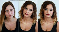 dark makeup vamp makeup  http://makeup-joannadobosz.blogspot.com/2017/06/vamp.html