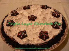 OREO Triple-Layer Chocolate Pie Recipe - Kraft Recipes | Bonham Business