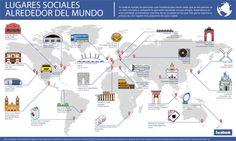 Los lugares con más check-ins  del mundo según Facebook