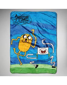 Adventure Time Fleece Blanket