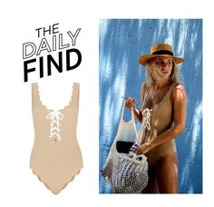 """""""Daily Find: Marysia Swimsuit"""" by polyvore-editorial ❤ liked on Polyvore featuring Marysia Swim and DailyFind"""