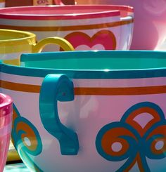 Fantasyland Tea cups