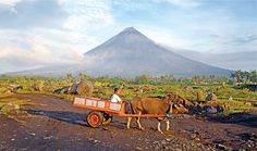 MAYON IS 'FIRE' — Mount Mayon, an active volcano known to exhibit ash explosions…