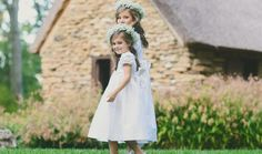 20a7e1f8456 Lace Flower Girl Dresses Silk White Ivory Smocked Formal Dress Wedding
