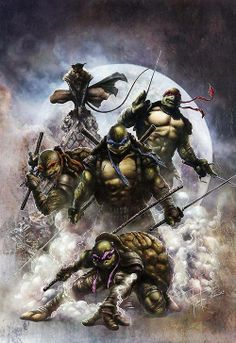 Teenage Mutant Ninja Turtles by Rod Thornton