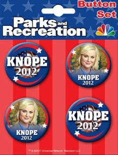 I want this for Christmas!!! - Leslie Knope campaign buttons