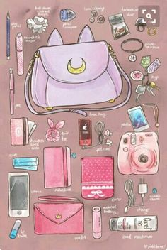 """What's in my bag?"" 