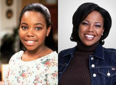 14 Famous Black Child Stars (Then and Now! Celebrities Then And Now, Black Celebrities, Hollywood Celebrities, Beautiful Celebrities, Celebs, Hollywood Hair, Black Tv, Black Kids, Black Child
