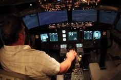 Homemade Boeing 737 Flight Simulator