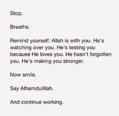 Daily reminder.