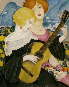 'Air de Capri' ~ Gerda Wegener  ~ 1923