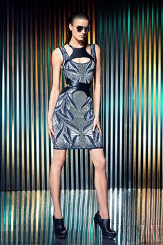 Hervé Léger by Max Azria - Pret a porter - Resort 2014 - http://es.flip-zone.com/fashion/ready-to-wear/fashion-houses-42/herve-leger-by-max-azria-3939