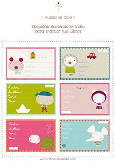 Image of Etiquetas Libros Gratis- free book labels