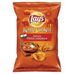 Lay's Kettle Cooked Indian Tikka Masala Flavor Potato Chips 7.75 oz : Target