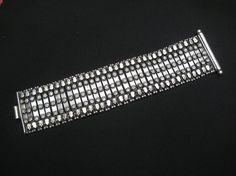 Antique Large Tribal Bracelet. Vintage Silver Bracelet. Ethnic Indian Jewelry
