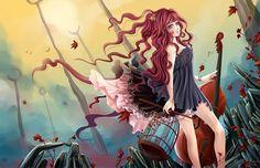 : Depth : by Cindiq on DeviantArt Hush Hush, Character Design, Deviantart, Fictional Characters, Cage, Manga Anime, Sleeves, Fantasy Characters