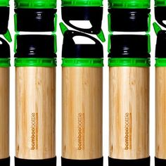 Bamboo Water Bottles...