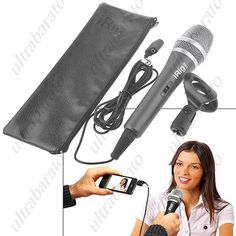 $43.49 - Multimedia AmpliTube Microphone Mic Mike with Clamp and Carrying Case for Apple iPhone iPad iPod Touch from UltraBarato Gadgets