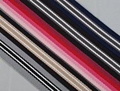 selection of webbing rolls Military Belt, Rolls, Stripes, Fabric, Textiles, Stuff To Buy, Sewing, Diy, Tableware