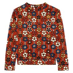 MEY MEY Sweatshirt - Red   Was £185, now £130 http://www.houseofhackney.com/sale/meymeh-sweatshirt-in-multi-daisy.html