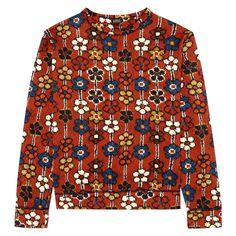 MEY MEY Sweatshirt - Red   Was £185, now £130 http://www.houseofhackney.com/sale/meymeh-sweatshirt-in-multi-daisy.html