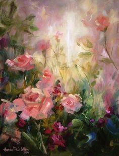 Art / Painting / Artist / Flowers