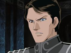 Oskar von Reuenthal from Legend of the Galactic Heroes (1982-1987)