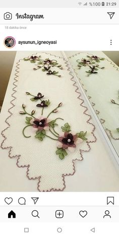 Chain Stitch, Table Runners, Arts And Crafts, Stitches, Home Decor, Dots, Homemade Home Decor, Stitching, Sewing Stitches