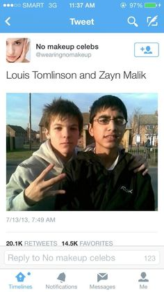 Niall favorited this>> I cannot stop laughing>>> THE WESTSIDE GANG SIGN THO XD