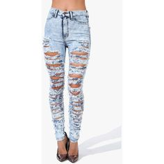 Jeans: Distressed Denim, Skinny Jeans, Cheap High-Waisted Jeans ...