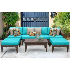 Found it at Wayfair - Manhattan 7 Piece Deep Seating Group with Cushion