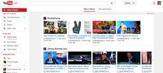 Youtube introduce mejoras en las listas de reproducción y en el diseño de su web