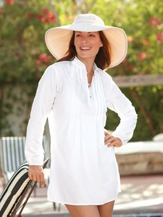 127bfc76b9f Our Women's Resort Tunic is one of those indispensable,  look-sophisticated-wherever-