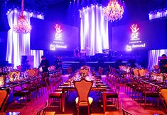 Event Coordinator: Special Occasions Event Planning Design + Furnishings: Revelry Event Design Floral Design: Empty Vase Lighting: Images by Lighting Photography: Kevin Weinstein