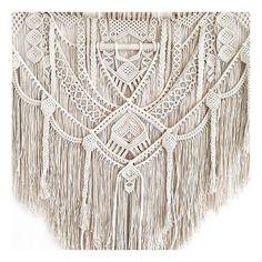 This item is unavailable Macrame Art, Macrame Design, Macrame Projects, Macrame Knots, Wall Plant Hanger, Card Weaving, Macrame Curtain, Macrame Patterns, Crafts