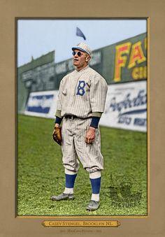 Casey Stengel sporting cool shades 100 years ago in Brooklyn Dodgers Gear, Dodgers Baseball, Baseball Players, Football, Old Baseball Cards, Baseball Quotes, Baseball Stuff, Sports Man Cave, Sports Art