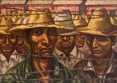 """Braceros,"" 1960 Artist: Domingo Ulloa"