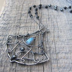 Beautiful necklace inspired by Thor's Hammer