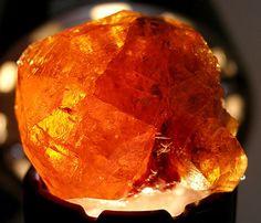 Mandarin Garnet, also sometimes known as orange spessartite, kunene spessartine or hollandine, is a recent discovery in the world of gemstones.