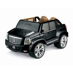 Power Wheels Cadillac Escalade by Fisher-Price, http://www.amazon.com/gp/product/B001HFWEUQ/ref=cm_sw_r_pi_alp_0eBKpb0XGRZC8